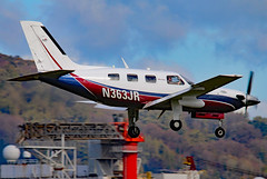 N363JR_01 (GH@BHD) Tags: corporate aircraft aviation malibu piper executive turboprop egac bhd belfastcityairport pa46 bizprop malibumeridian n363jr