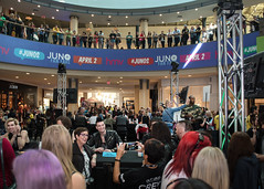 JUNOS (elizabethsummerley) Tags: music calgary mall photography nikon live performance photojournalism bands much chinook yyc junos etalk summerley dearrouge juno2016