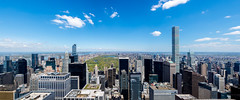 North of Manhattan (djpascimix) Tags: city panorama usa ny newyork skyline america centralpark manhattan metropolis birdseyeview 30rock rockafellercenter