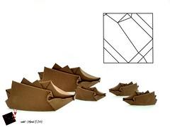 hedgehog (-sebl-) Tags: animal paper origami hedgehog mammals pureland wetfold sebl