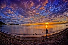 Being There (/\ltus) Tags: sunset newzealand lake sony nz aotearoa hdr laketaupo 3xp godzone internalhdr nex7