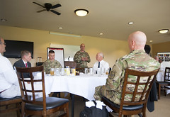 IMCOM Commanding General visits Presidio (Presidio of Monterey: DLIFLC & USAG) Tags: california soldier army monterey pom unitedstates general military installation barracks presidio garrison 3star pmsa imcom stevenshepard montereymodel