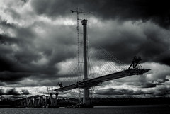 Queensferry Crossing, River Forth (wwshack) Tags: scotland lothians queensferrycrossing