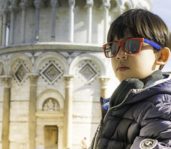 PISA3 (PEQUENAS LEMBRANAS) Tags: gabriel italia torre bambini pisa crianas pendente