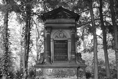 cemetery (winzer_stefan) Tags: friedhof white black frieden architektur grab tot wald ruhe