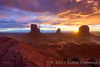 Mittens Stormy Dawn (Lidija Kamansky) Tags: arizona sky nature clouds sunrise landscape outdoors dawn desert navajoland redrock monumentvalley dramaticsky scenics rockformation navajonation themittens beautyinnature blowingdust dramaticlandscape lidijakamansky