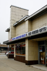 Betty Jo's Christian Bookstore - Broadview (Landmarks Illinois) Tags: commerce exterior plastic trade broadview plateglass provisotwp