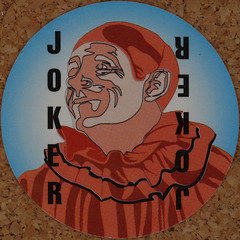 Round Playing Card Joker (Leo Reynolds) Tags: playing deck card squaredcircle playingcard carddeck xleol30x