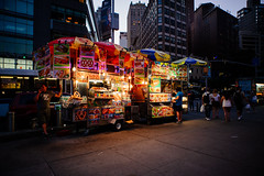 Untitled (//schneehage) Tags: street new york city columbus food usa ny color night circle foodtruck