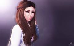 Brown Eyes ~ Gwyneth (Moonie Ghanduhar - Client List Closed) Tags: avatar digitalart sl secondlife browneyes gwyneth virtualworld moonreflection moonieghanduhar myinnerbeautyresident