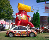 VW Jelly Belly Beetle at Wisconsin State Fair 2006 (49er Badger) Tags: wisconsin vw state beetle fair jellybelly cheesehead
