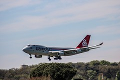 Cargolux (xwattez) Tags: france plane airport aircraft aviation american boeing transports toulouse aeropuerto 747 avion amricain 2016 aroport vhicule lfbotls