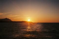 (szmenazsfi) Tags: sunset sea italy seascape film analog seaside italia campania sundown negative napoli analogue ischia procida smena smenasymbol