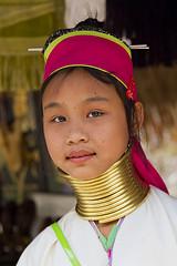 ChiangMai_0692 (JCS75) Tags: woman canon thailand photography asia karen longneck chiangmai hilltribe colorimage karian