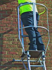 Working at Height Painters Mate (F.H.Brundle) Tags: safety equipment edge handrail protection height lanyard working roof anchor handrailingsolutions