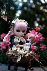 Never Letting Go (dreamdust2022) Tags: baby cute love girl loving lady angel happy hug kiss doll little sweet young mother kind aurora pullip magical playful giggles tender littlepullip sweetiepiestrawberries