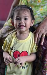 cute toddler (the foreign photographer - ) Tags: cute girl portraits thailand gold nikon toddler hand bangkok ring bang bua grandmas khlong bangkhen d3200 apr22016nikon