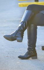 2016-01-03 (84) boots at Laurel Park (JLeeFleenor) Tags: girls woman black photography donna md shoes boots photos femme mulher maryland footwear frau vrouw buckles dona laurelpark wanita    kneehigh kvinne   nainen kobieta footgear   kvinde ena  kvinna kadn n lamujer    marylandhorseracing  marylandracing ngiphn