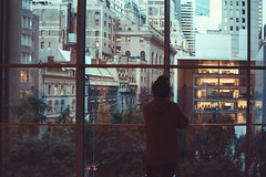 From MoMa with love (Sofia Podest) Tags: street new york city travel sunset window buildings sofia moma podest zobeide sofiapodest
