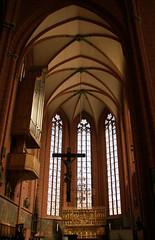 Frankfurt, Kaiserdom St. Bartholomus, Chor - St. Bartholomew's Cathedral, chancel (HEN-Magonza) Tags: frankfurt hesse hessen deutschland germany kaiserdomstbartholomus hoherchor stbartholomewscathedral chancel