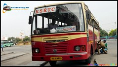 KSRTC KL-15-A-611 From Madurai To Kollam (Dhiwakhar) Tags: kesrtc