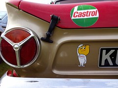 Cortina Esso Sticker (geokin_2000) Tags: cortina lights castrol tri esso