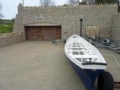 sea rowing club (dawn.v) Tags: uk england grey seaside may dorset mayday swanage purbeck drizzle 2016 bankholidayweekend lumixtz7