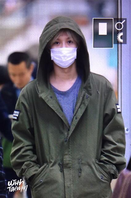 160427 Taemin @ Aeropuerto Gimpo {Llegada a Corea} 26706266286_7e32c913a6_z
