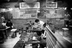 ST (Romoletto) Tags: china street bw hk food hongkong aprile cina 2016 cantonfair