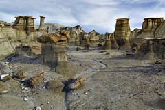 Bisti Wilderness Hoodoos (ajtoepfer) Tags: newmexico sandstone americanwest hoodoos fourcornersregion bistidenazinwilderness