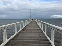 Wellington Point (PipThePony) Tags: sea pier brisbane queensland wellingtonpoint