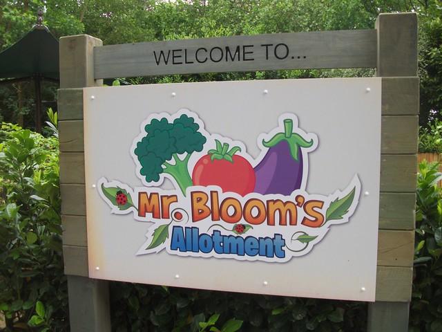 Mr Bloom's Allotment - Entrance Sign