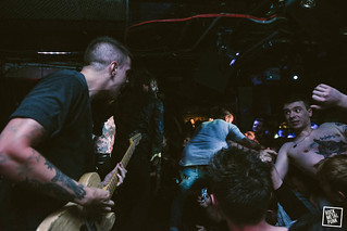 August 18, 2015 // Frank Carter & The Rattlesnakes @ Borderlin // Shot by Jennifer McCord