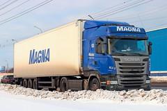 Scania R400  A 837 TA 174 (RUS) (zauralec) Tags: auto street car k transport company ta scania magna 174 rus    kurgan  837 a  r400        myagotina