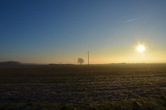 Sun is Up (sgreen757) Tags: morning winter sunrise way nikon south gloucestershire glos upton hawkesbury cotswold d7000