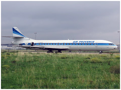 """SNCASE SE 210 """"Caravelle"""" n273 Type 12 F-GCVL AIR .. (Aerofossile2012) Tags: museum aircraft aviation muse mae sterling airliner avion caravelle 2015 lebourget aerospatiale airinter fgcvl oysae fgvcl"""