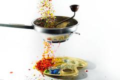 moulin... (Antonio Iacobelli (Jacobson-2012)) Tags: colors watercolor nikon acrylic 60mm splash nikkor colori bari d800 acrilici su800 sb900 passatutto sb700 sb910 mpulin