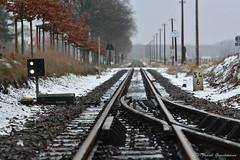 Leeres Gleis (Frank Guschmann) Tags: winter vacation holiday nikon urlaub bahnhof railwaystation rügen sellin rasenderroland rugia d7100 frankguschmann nikond7100