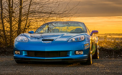 2010 Corvette Grand Sport (Brianfeutz) Tags: blue sunset hardtop voigtlander jetstream corvette 58mm gs c6 widebody ls3 6speed noct grandsport drysump abr800 d7100
