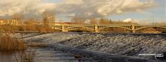 Salamanca y su Puente Enrique Estevan o Nuevo.