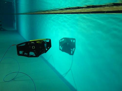 BlueROV (Photo courtesy of M.S.)