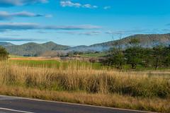 Lake Eildon Challenge (5 Apr 2014) (Steven Taylor (Aust)) Tags: road sky bike clouds landscape cyclist au australia victoria cycle adventureracing multisport howqua bikeleg fstop5 20140405 mansfieldwoodspointrd cycleleg 23of98km howquariverrd event0051 lakeeildonchallenge