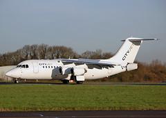 EI-RJR Bae RJ85 City Jet (Keith B Pics) Tags: sen londoncity bae146 britishaerospace rj85 lcy cityjet eirjr egmc londonsouthendairport n530xj keithbpics
