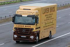 VX60CCZ - Luker Bros (TT TRUCK PHOTOS) Tags: mercedes mp4 removals luker lockerbie actros a74m