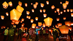 2016 Taiwan's Lantern Festival  (Jennifer ) Tags: ao lunarnewyear     skylanternfestival    yuanbo pingxiskylanternfestival nikonafs1424mmf28ged    nikond4s   pingxiskylanternfestival2016