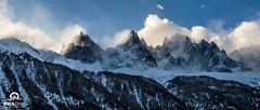 Gros coup de Foehn dans le massif. (Jool CHX) Tags: montagne vent 7d neige nuages chamonix aiguillesdechamonix foehn aiguilleduplan grandscharmoz aiguilledeblaitire
