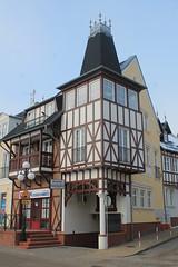 Mielno, Pomorze, Poland (LeszekZadlo) Tags: city winter building tower history architecture town europe eu poland polska polen historical polonia ue pomerania pommern pologne pomorze
