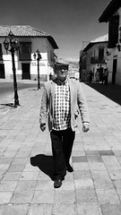 Caminando en Tunja