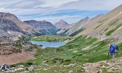 Pulsatilla Pass, Sawback Trail, Banff National Park (wldrns) Tags: hiking backpacking alberta banffnationalpark sawbacktrail johnstoncreek pulsatillapass