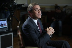 Pedro Passos Coelho em entrevista à SIC